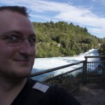 Grandioses Selfpic an den Huka Falls