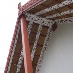 Te Puia - Dach des Meeting House
